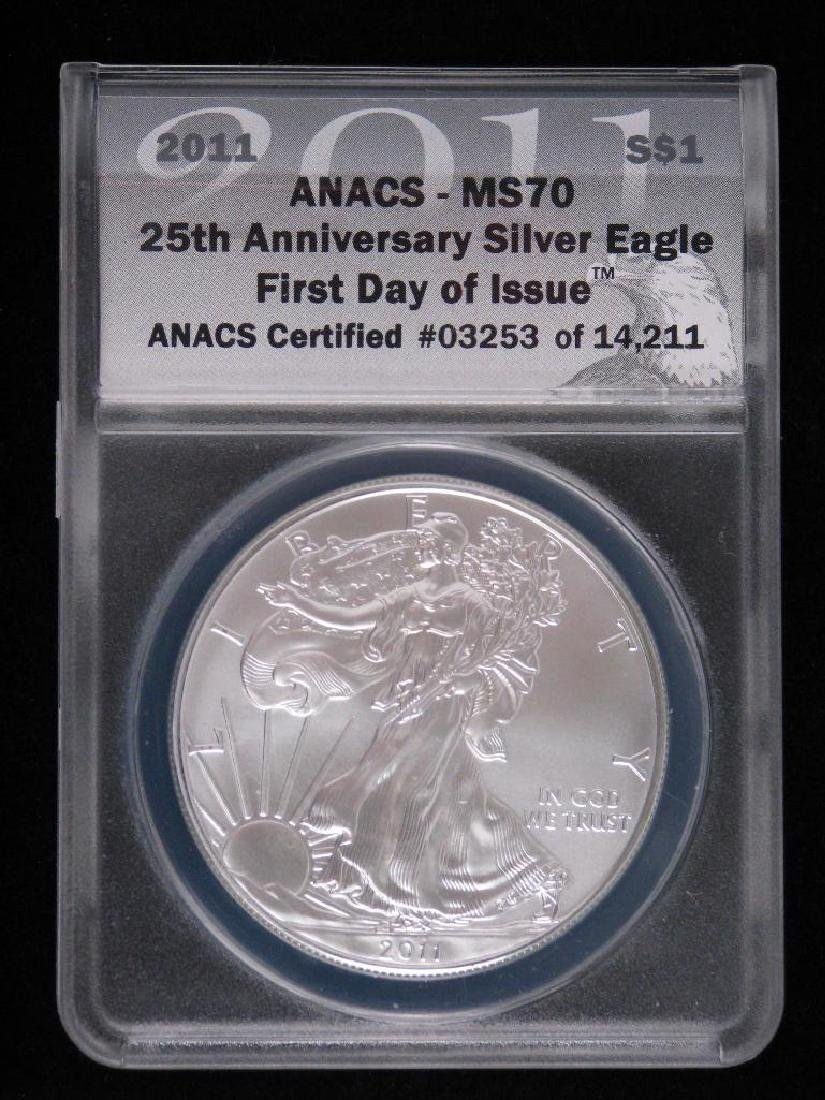2011 Silver Eagle : 25th Anniversary Silver Eagle