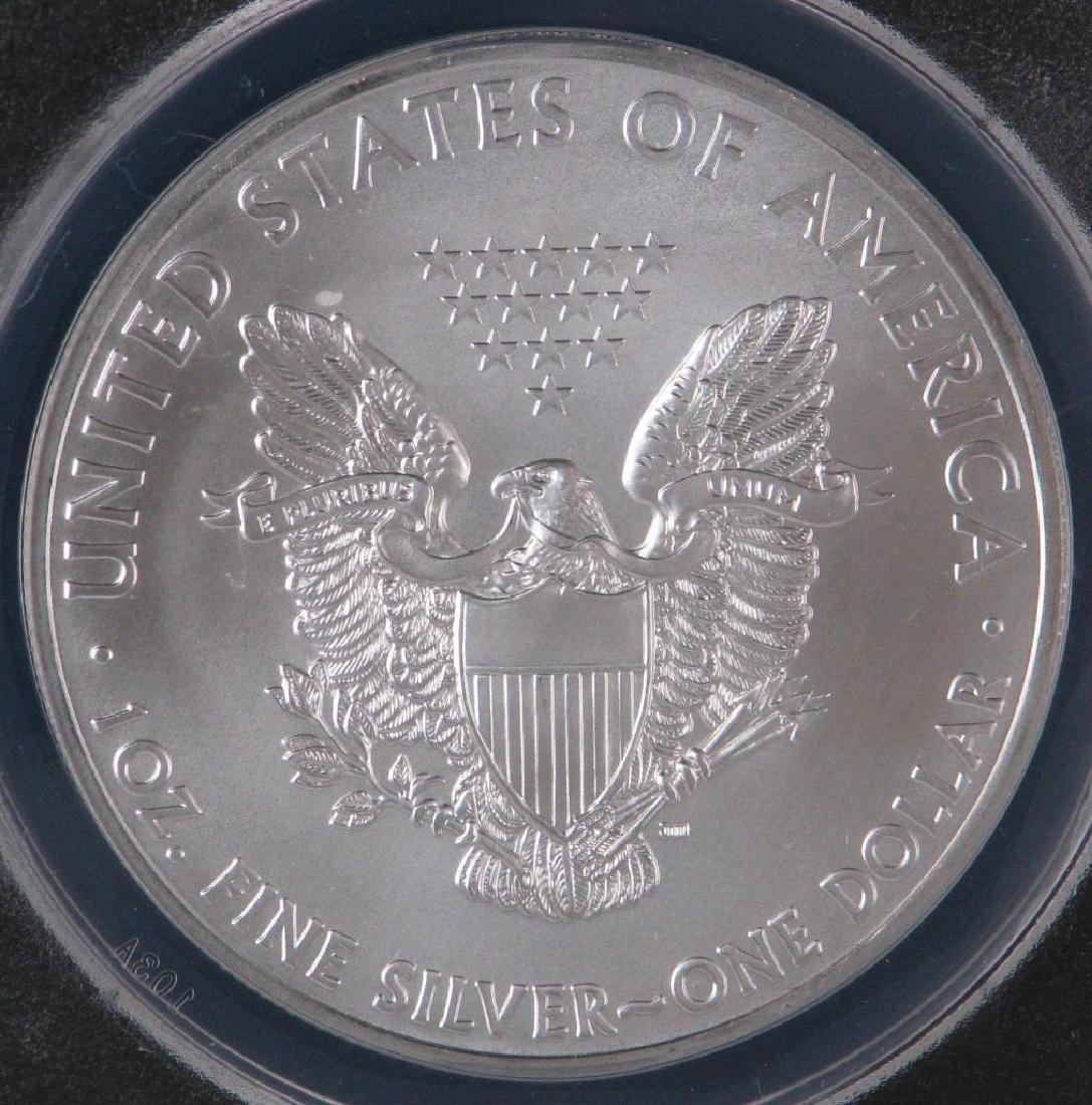 2011 Silver Eagle : 25th Anniversary Silver Eagle - 4