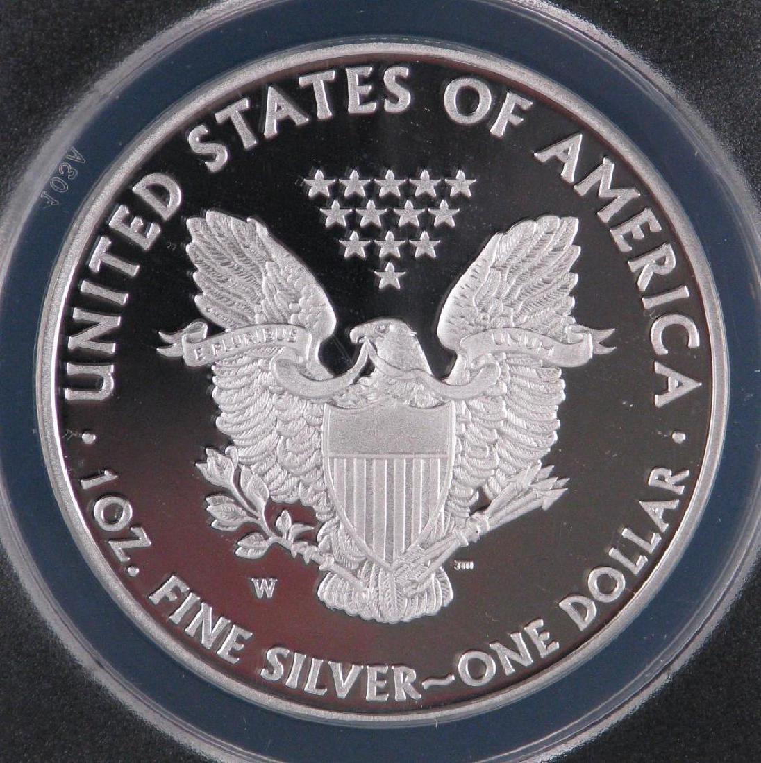 2010-W American Silver Eagle - 4