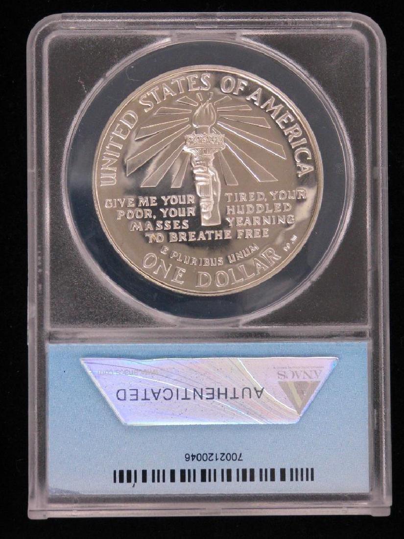 1986-S Statue of Liberty Centennial Commemorative Coin - 2