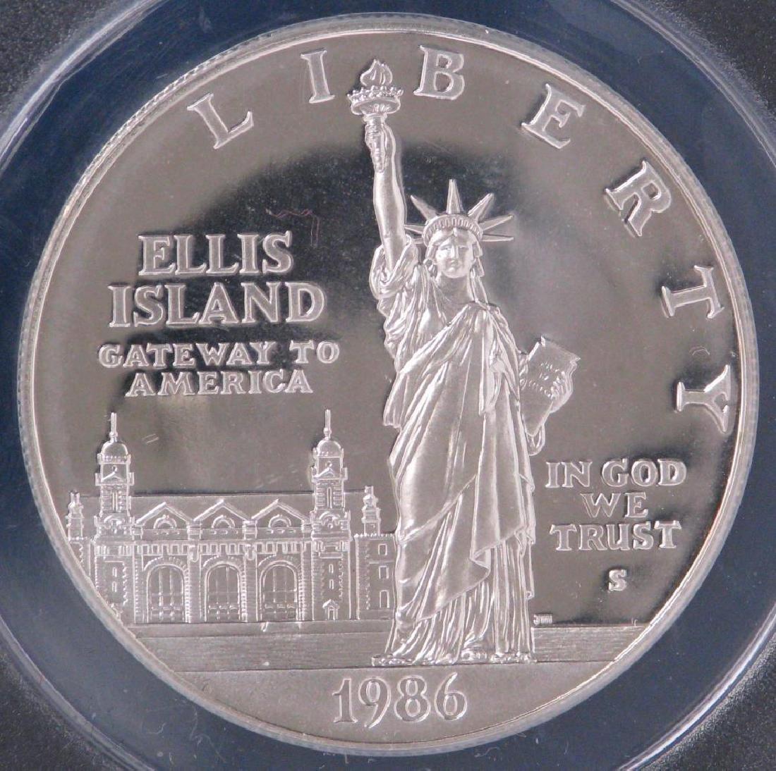 1986-S Statue of Liberty Centennial Commemorative Coin - 3