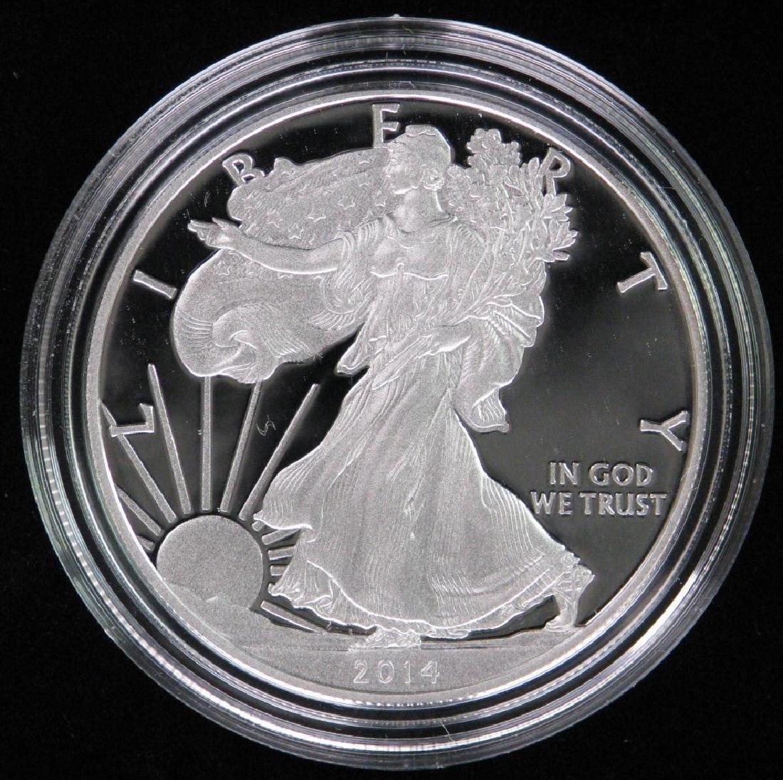 2014-W American Silver Eagle - Proof