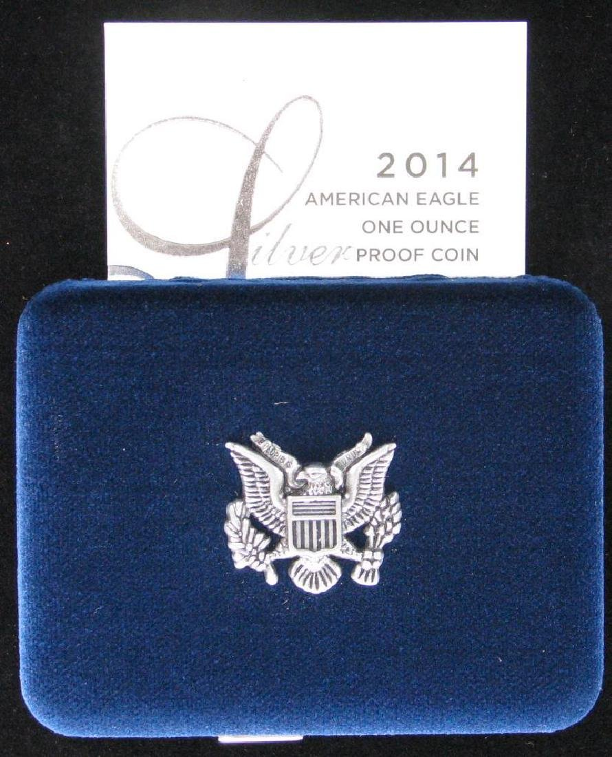 2014-W American Silver Eagle - Proof - 4