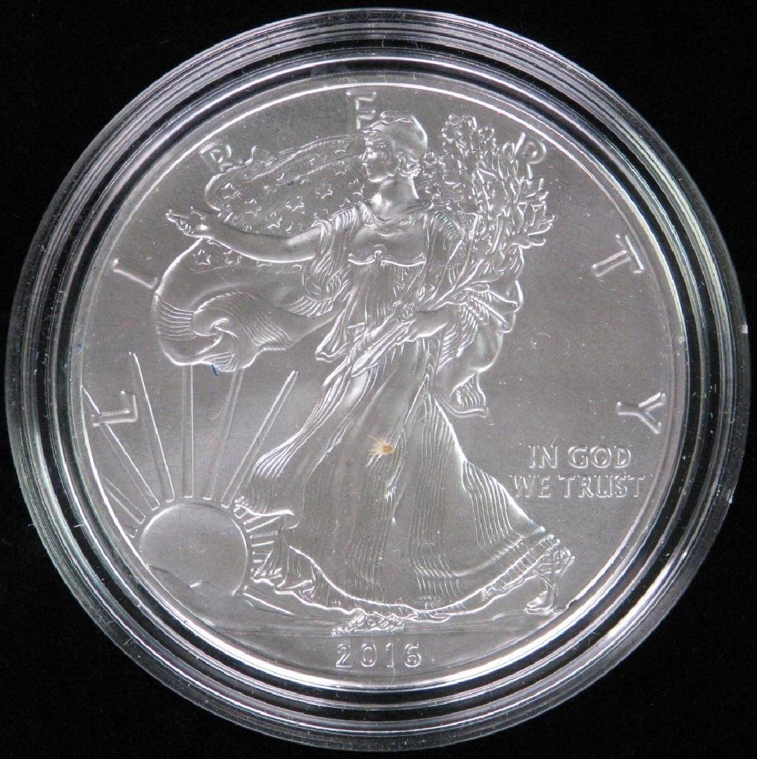 2016-W American Silver Eagle - Uncirculated