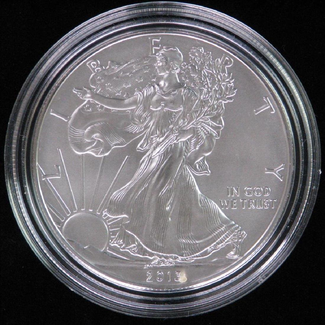 2013-W American Silver Eagle - Uncirculated
