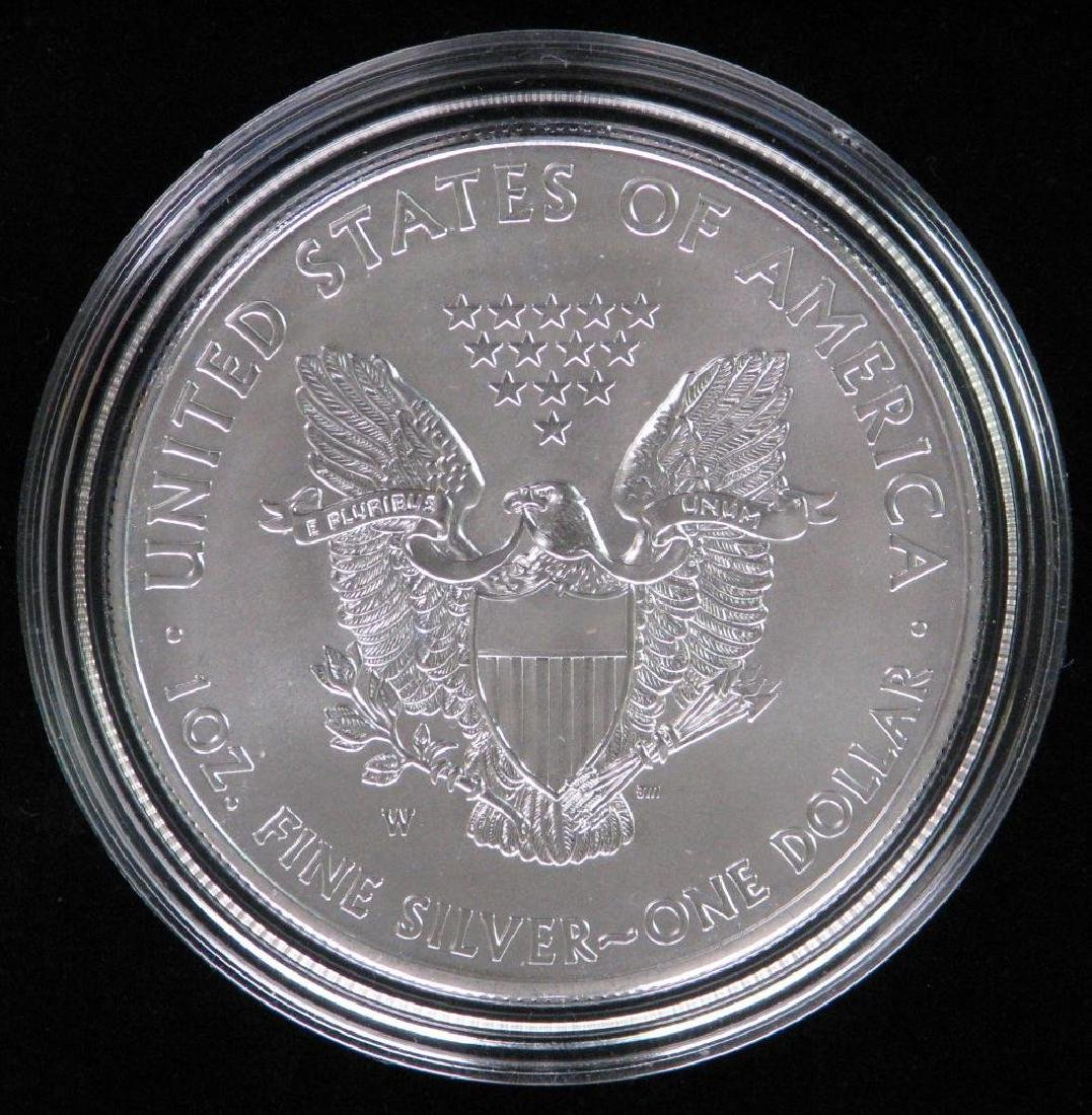 2013-W American Silver Eagle - Uncirculated - 2