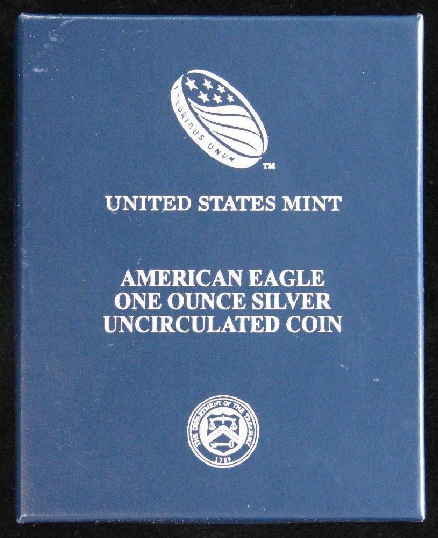 2013-W American Silver Eagle - Uncirculated - 3