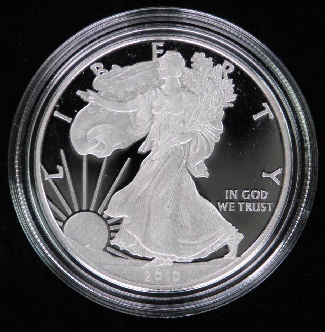2010-W American Silver Eagle - Proof