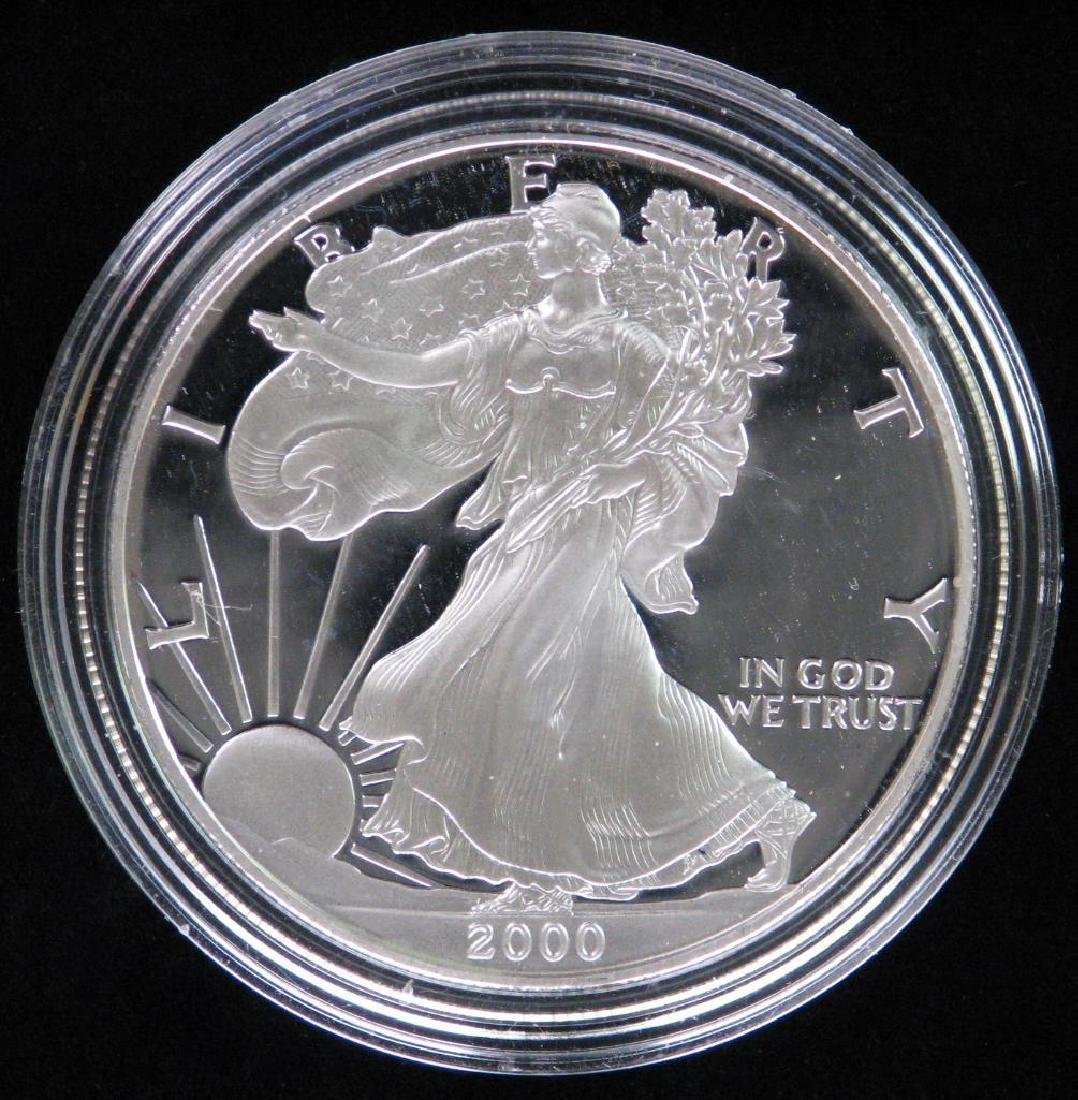 2000-W American Silver Eagle - Proof