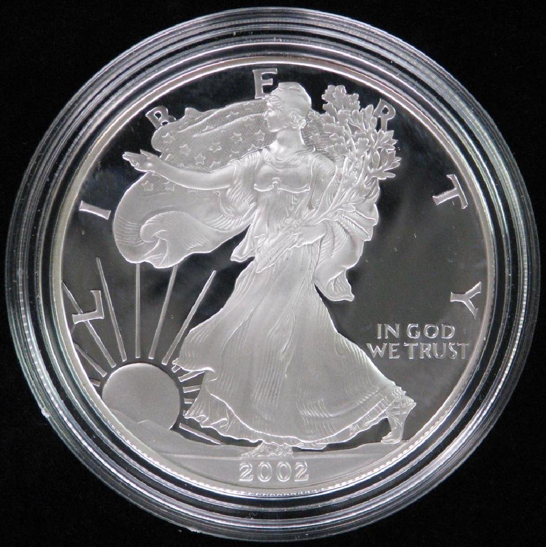 2002-W American Silver Eagle - Proof