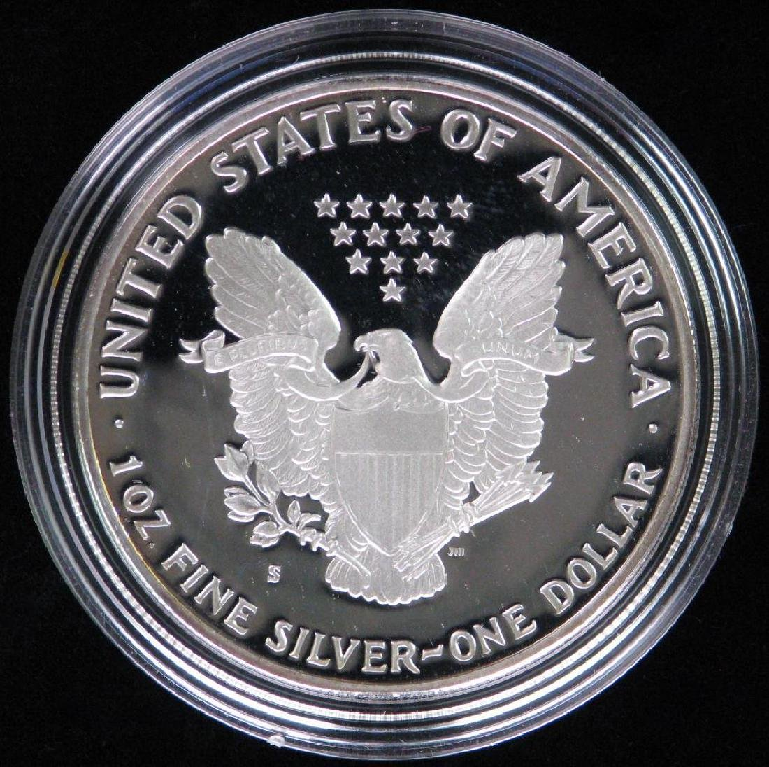 1986-S American Silver Eagle - Proof - 2