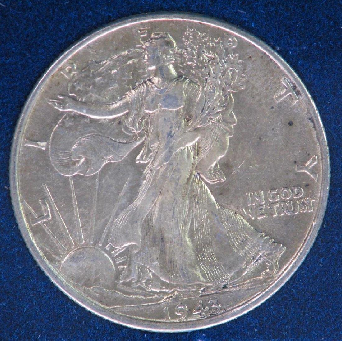 1943-P Walking Liberty Half Dollar - Uncirculated