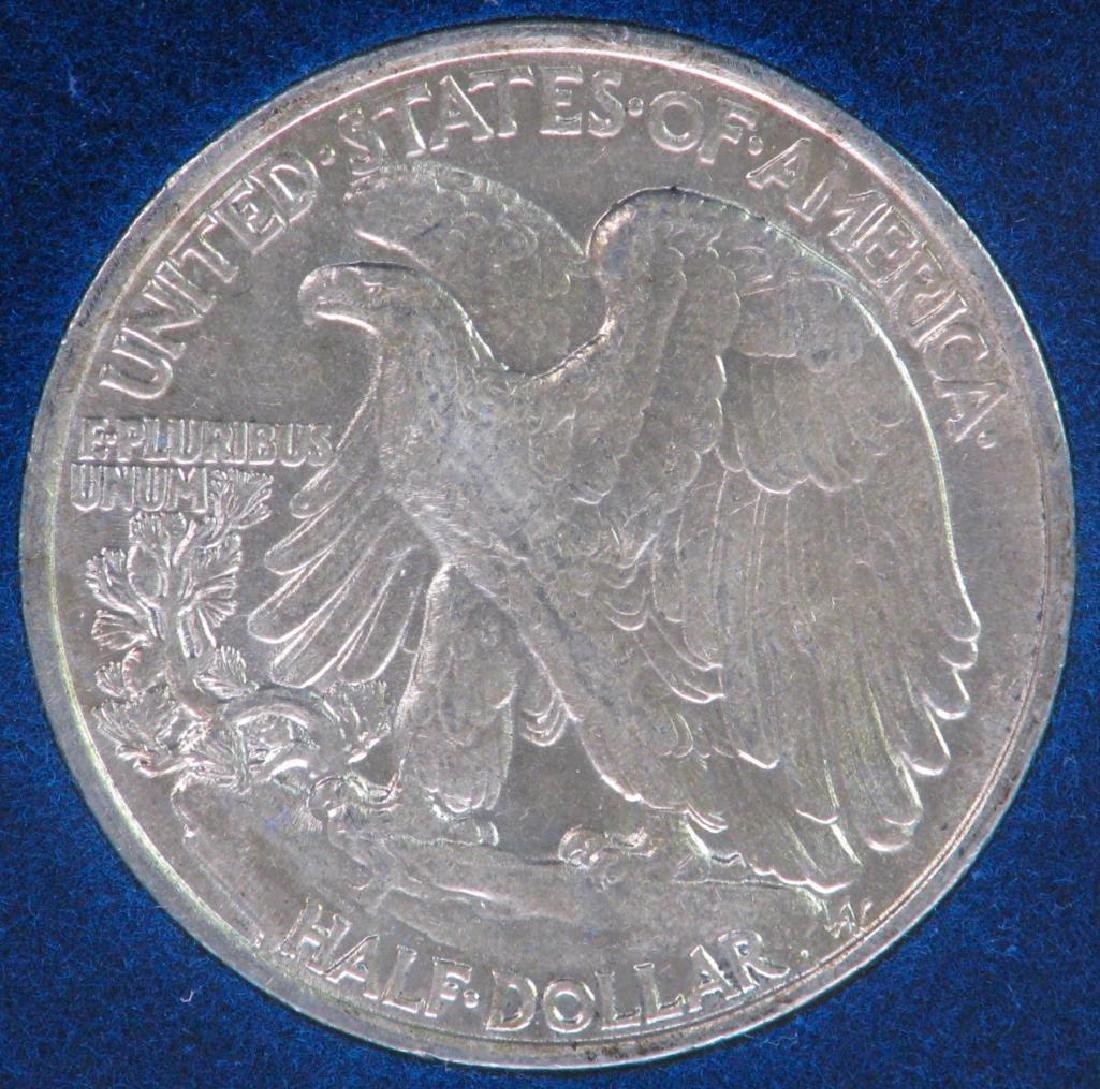 1943-P Walking Liberty Half Dollar - Uncirculated - 2