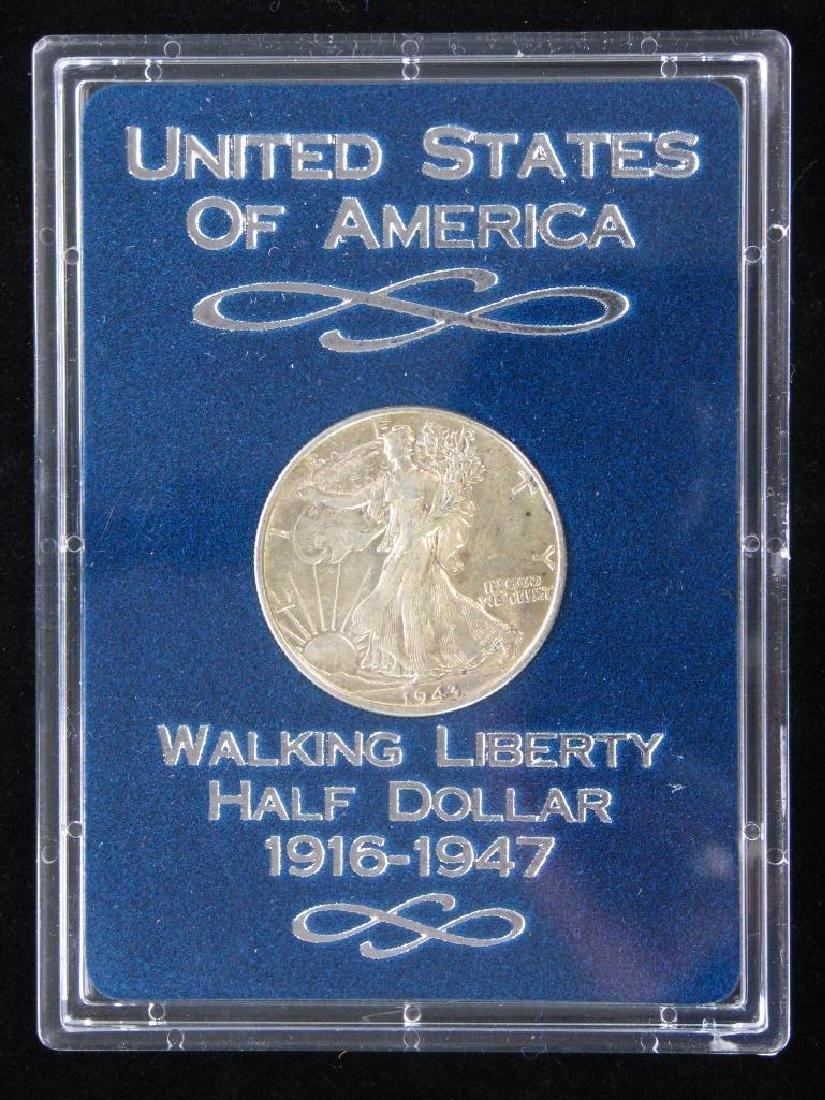 1943-P Walking Liberty Half Dollar - Uncirculated - 3