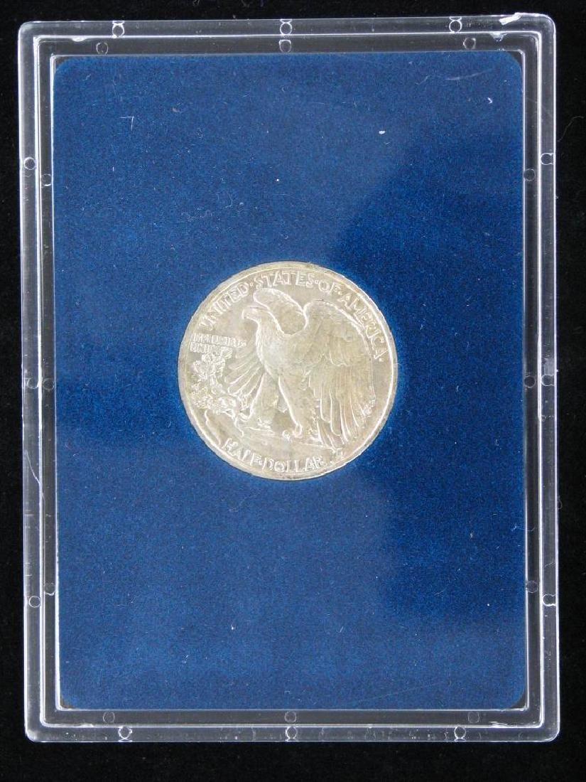 1943-P Walking Liberty Half Dollar - Uncirculated - 4