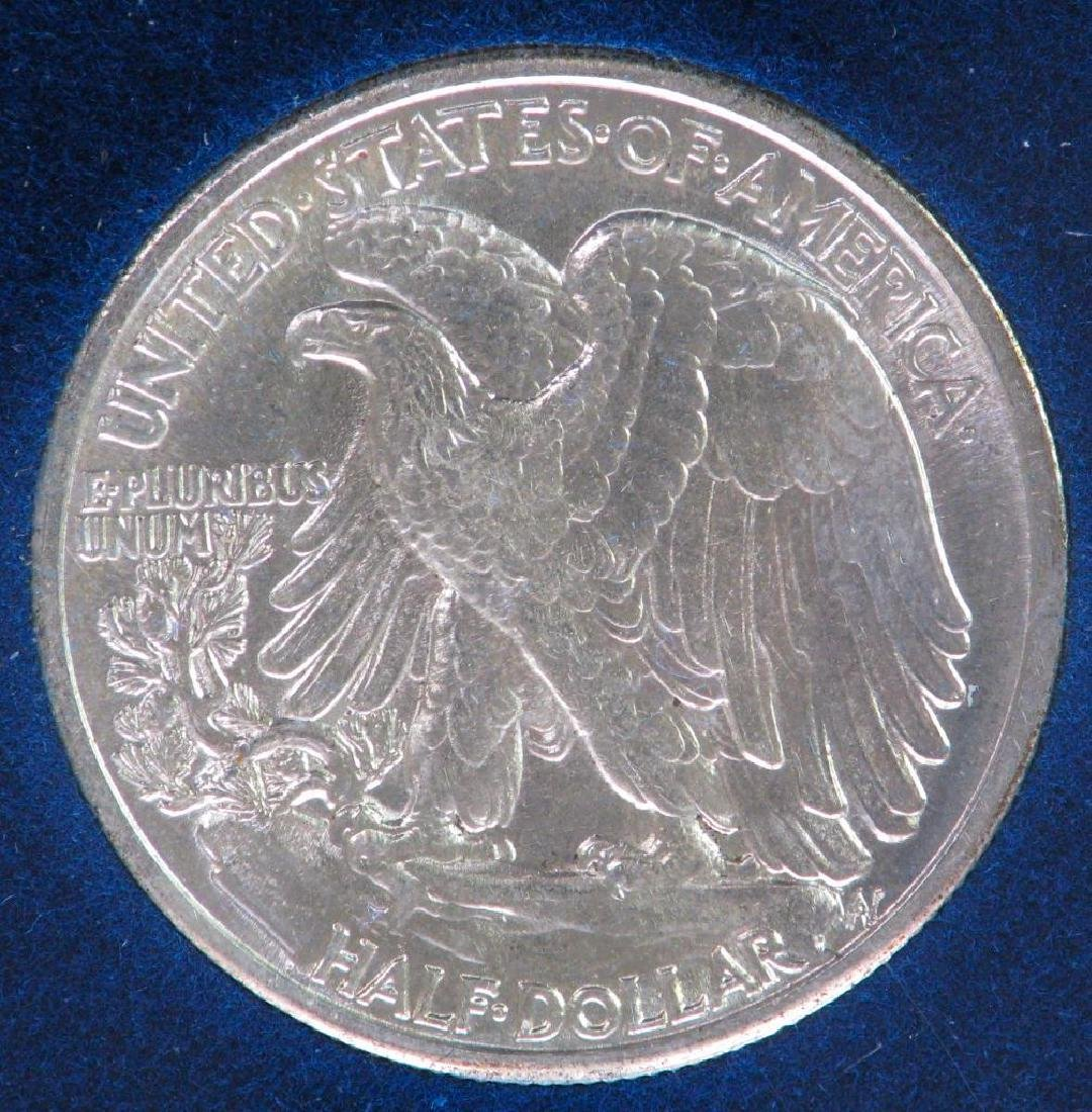 1942-P Walking Liberty Half Dollar - Uncirculated - 2