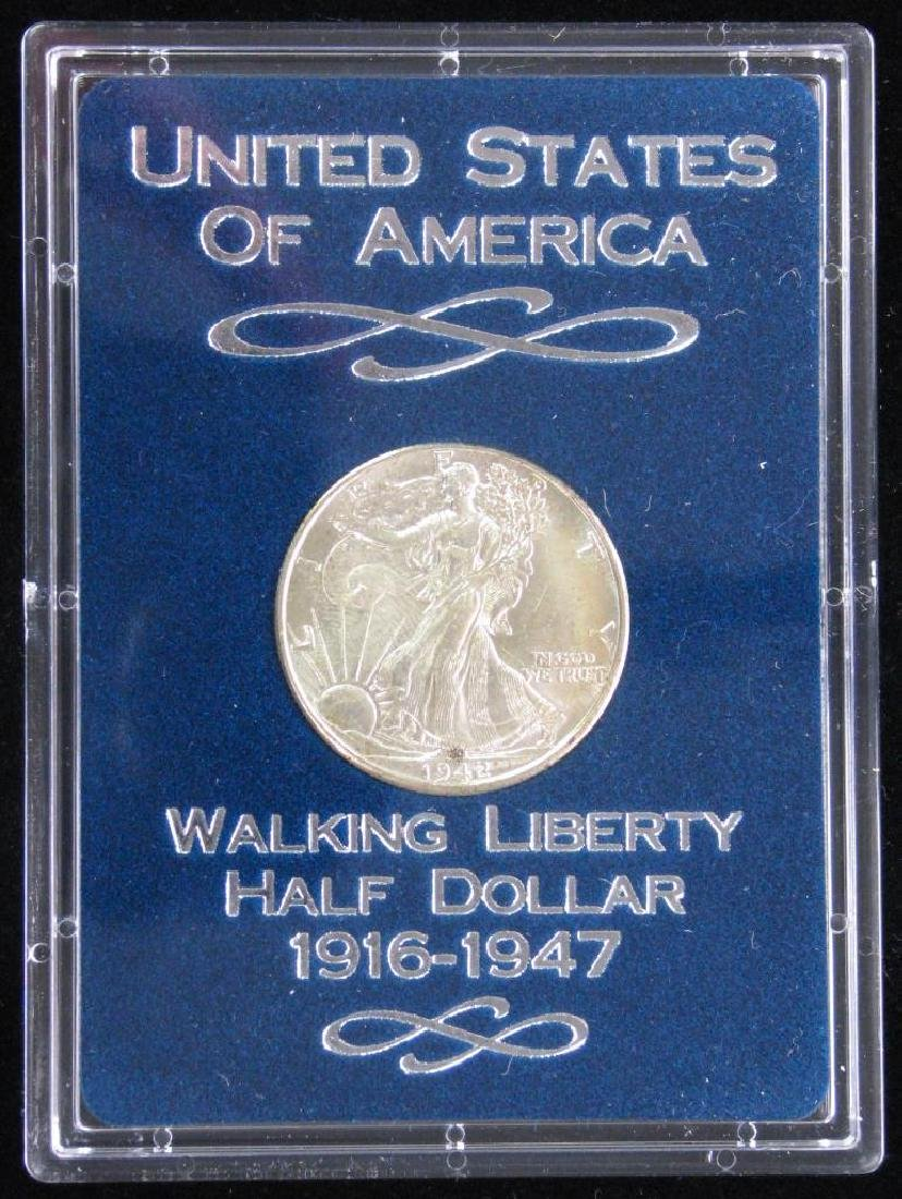 1942-P Walking Liberty Half Dollar - Uncirculated - 3