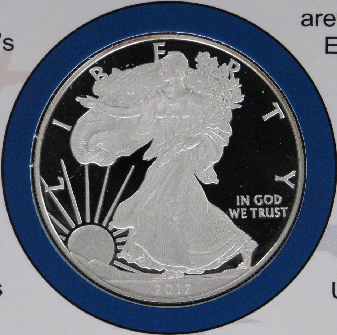 2012 Coin and Currency Set : American Silver Eagle