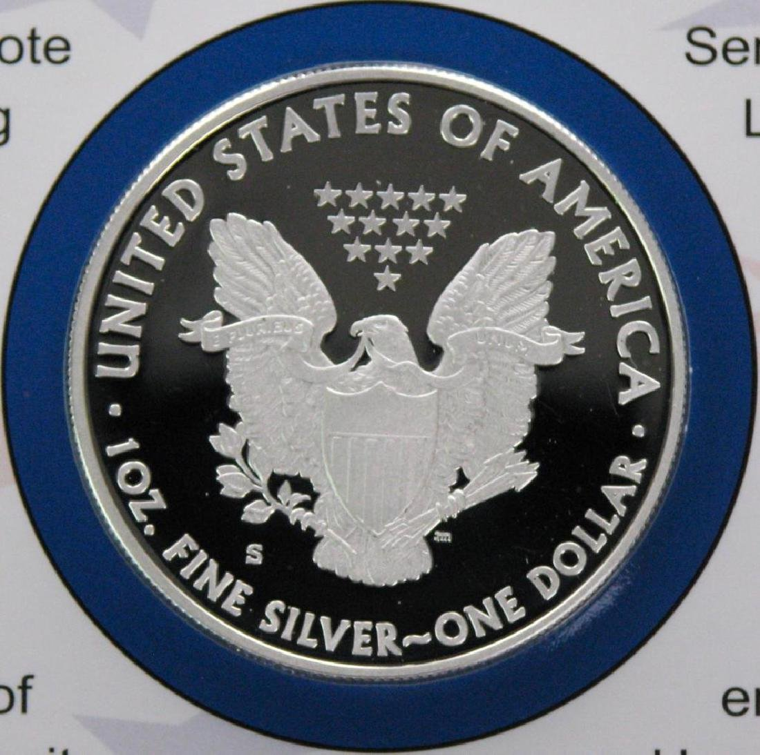 2012 Coin and Currency Set : American Silver Eagle - 2