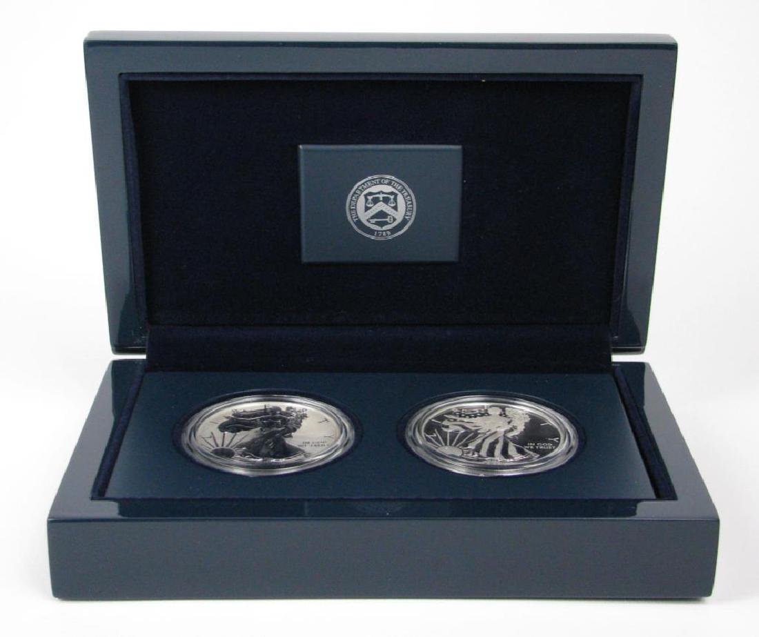 2013-W American Eagle 2-Coin Silver Set - 2