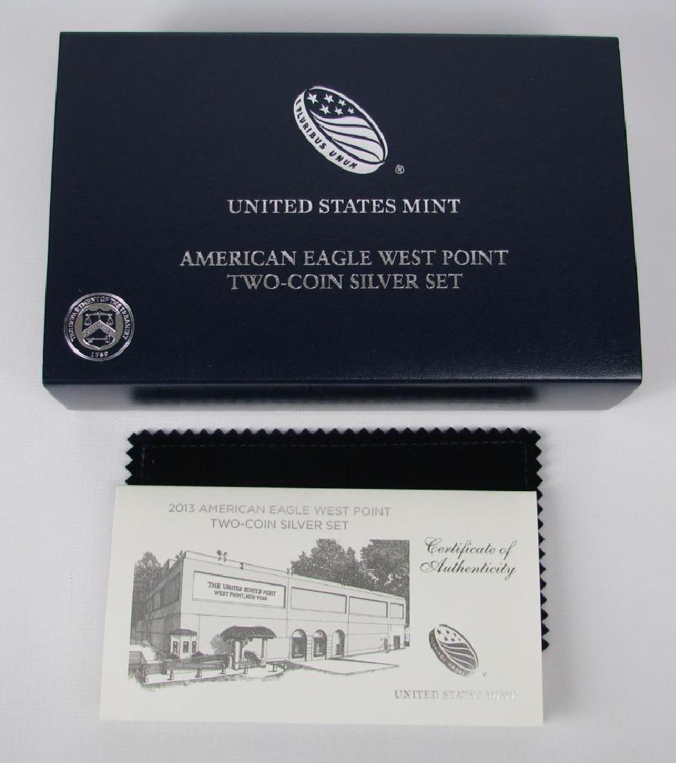 2013-W American Eagle 2-Coin Silver Set - 3