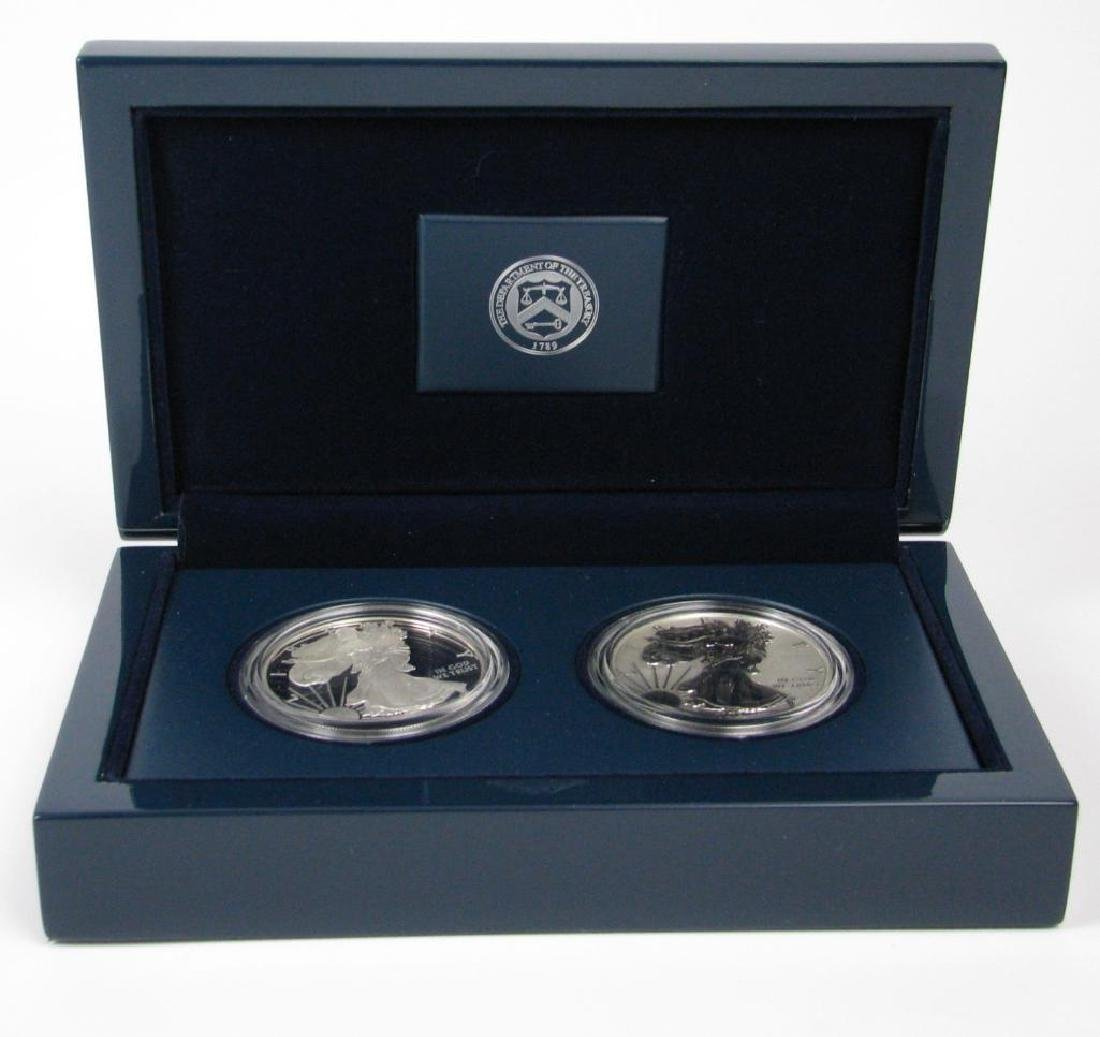 2012-S American Eagle 2-Coin Silver Proof Set - 2