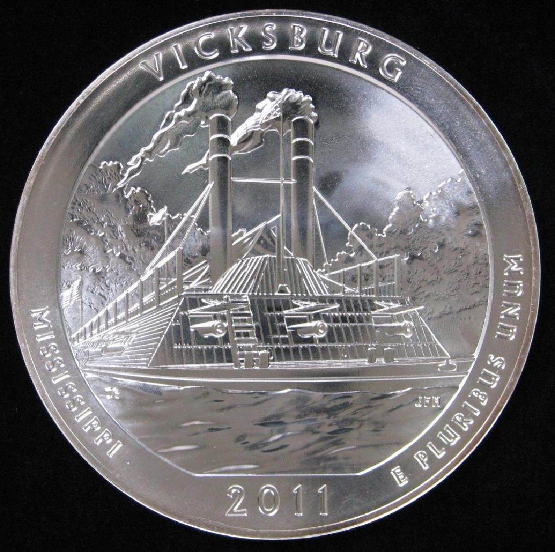 "2011 ""America the Beautiful"" Commemorative : 5 oz."