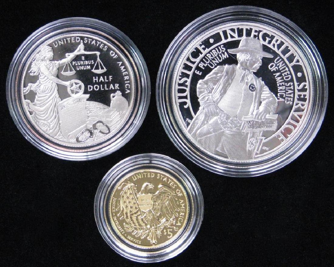 2015 Three-Coin Commemorative Proof Set : $5 Gold Coin, - 2