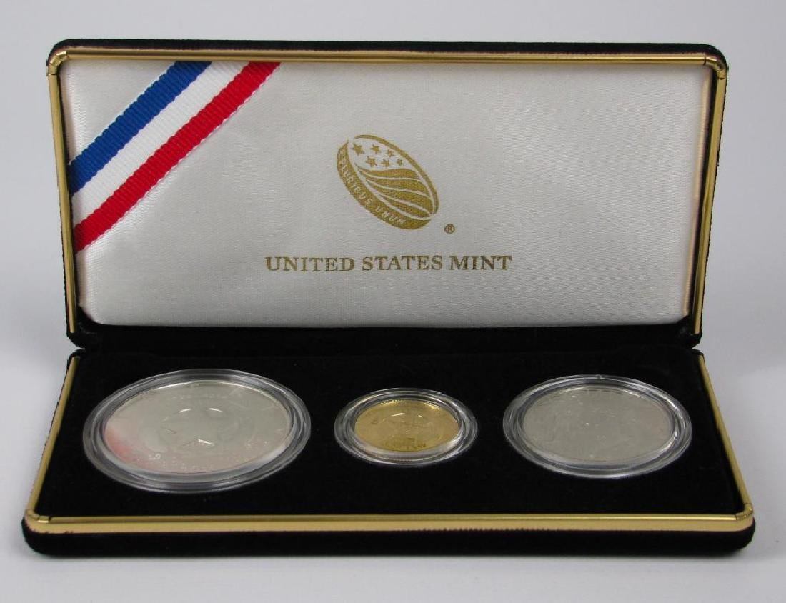 2015 Three-Coin Commemorative Proof Set : $5 Gold Coin, - 3