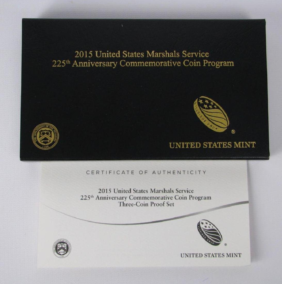 2015 Three-Coin Commemorative Proof Set : $5 Gold Coin, - 4