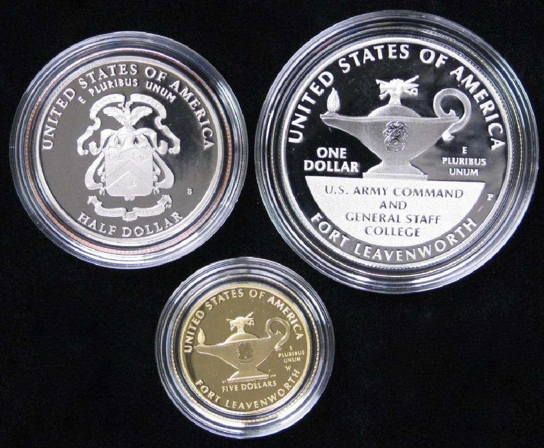 2013 Three-Coin Commemorative Proof Set : $5 Gold Coin, - 2