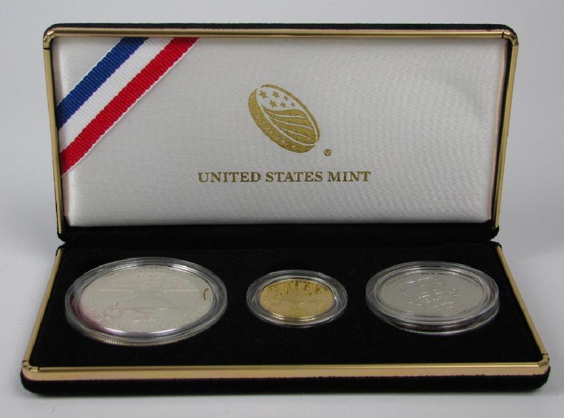 2013 Three-Coin Commemorative Proof Set : $5 Gold Coin, - 3