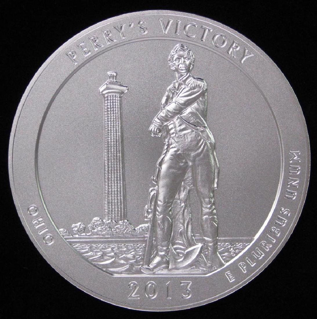"2013 ""America the Beautiful"" Commemorative : 5 oz."