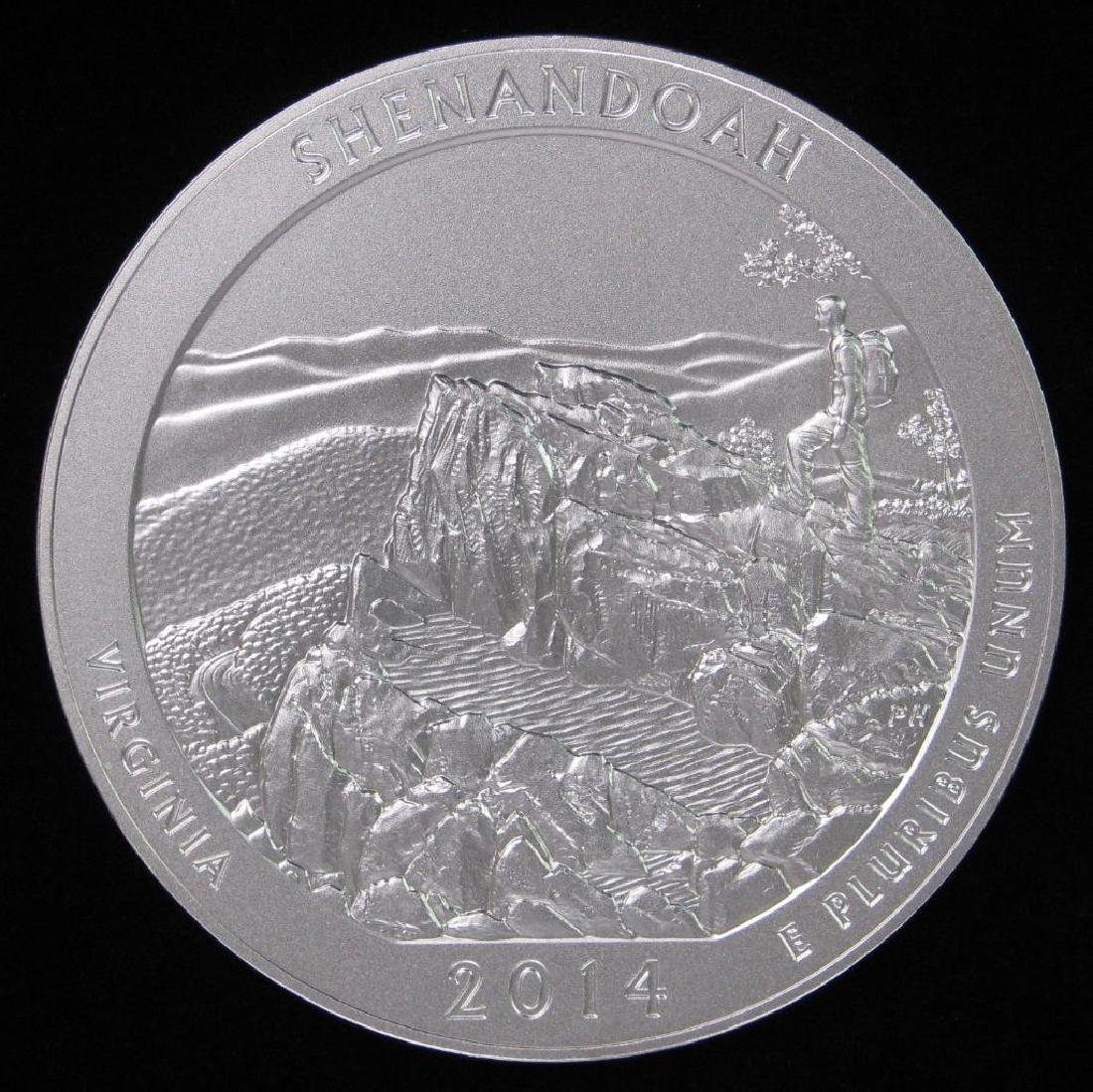 "2014 ""America the Beautiful"" Commemorative : 5 oz."