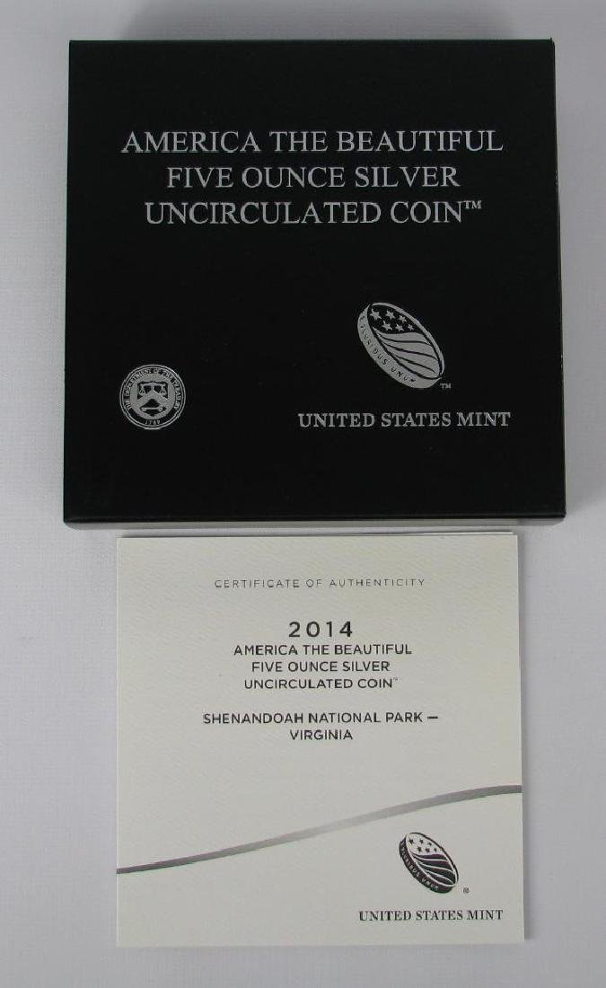 "2014 ""America the Beautiful"" Commemorative : 5 oz. - 3"