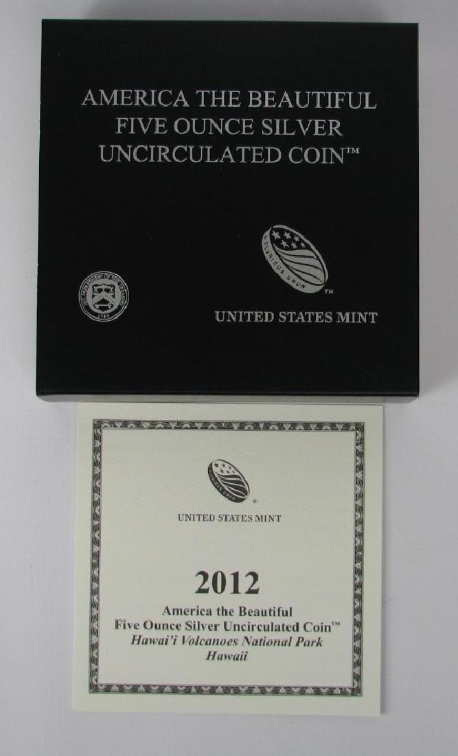 "2012 ""America the Beautiful"" Commemorative : 5 oz. - 3"
