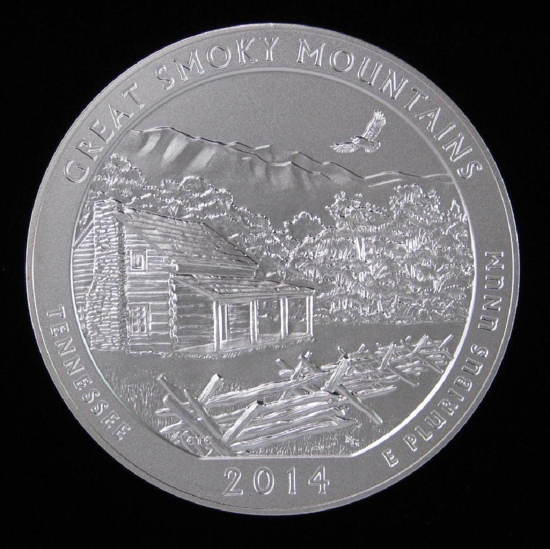 "2014 ""America the Beautiful"" Commemorative : 5 oz."