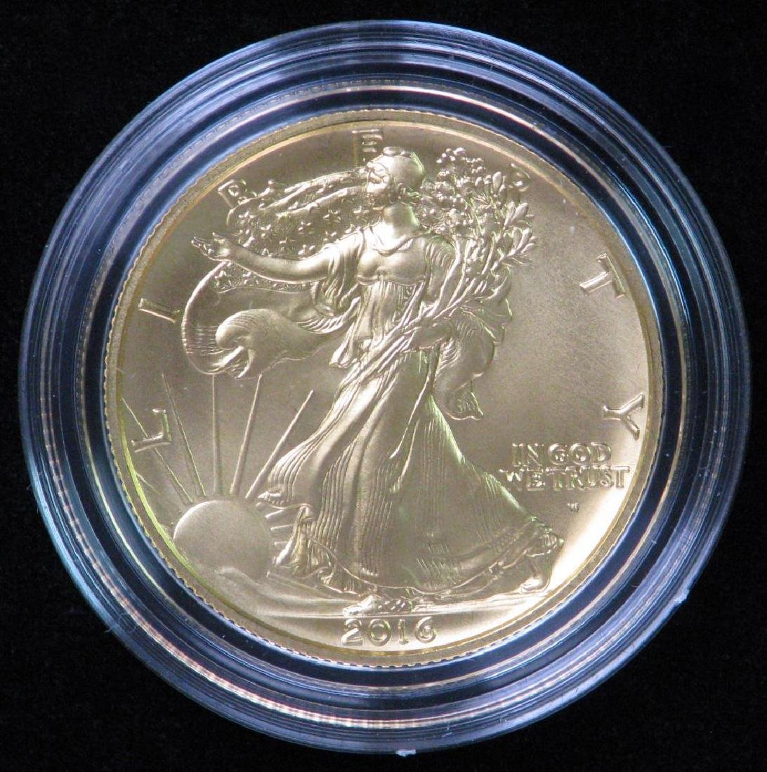 2016-W Walking Liberty Half Dollar Centennial Gold Coin