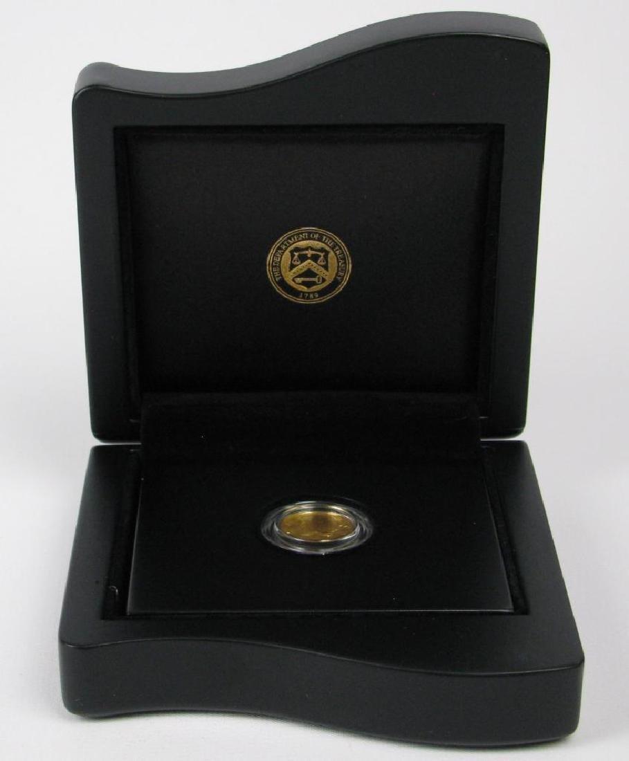 2016-W Mercury Dime Centennial Gold Coin - 3