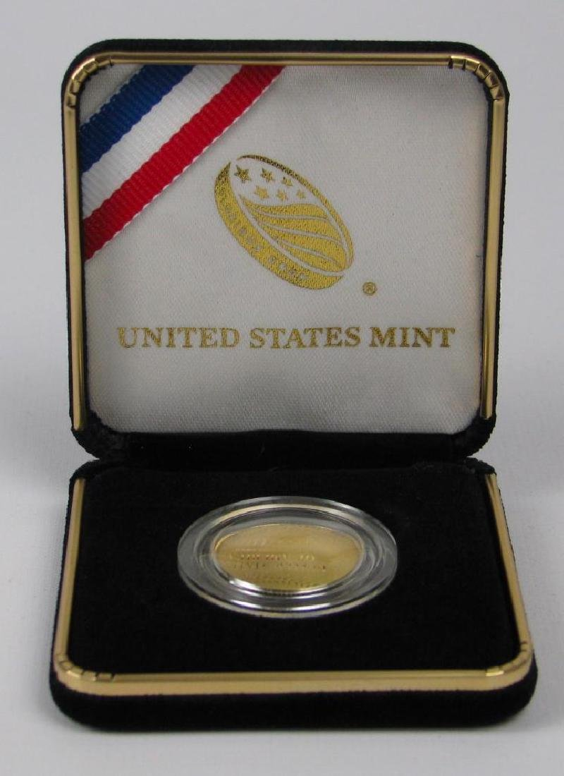 2014-W National Baseball Hall of Fame Gold Proof Coin - 3
