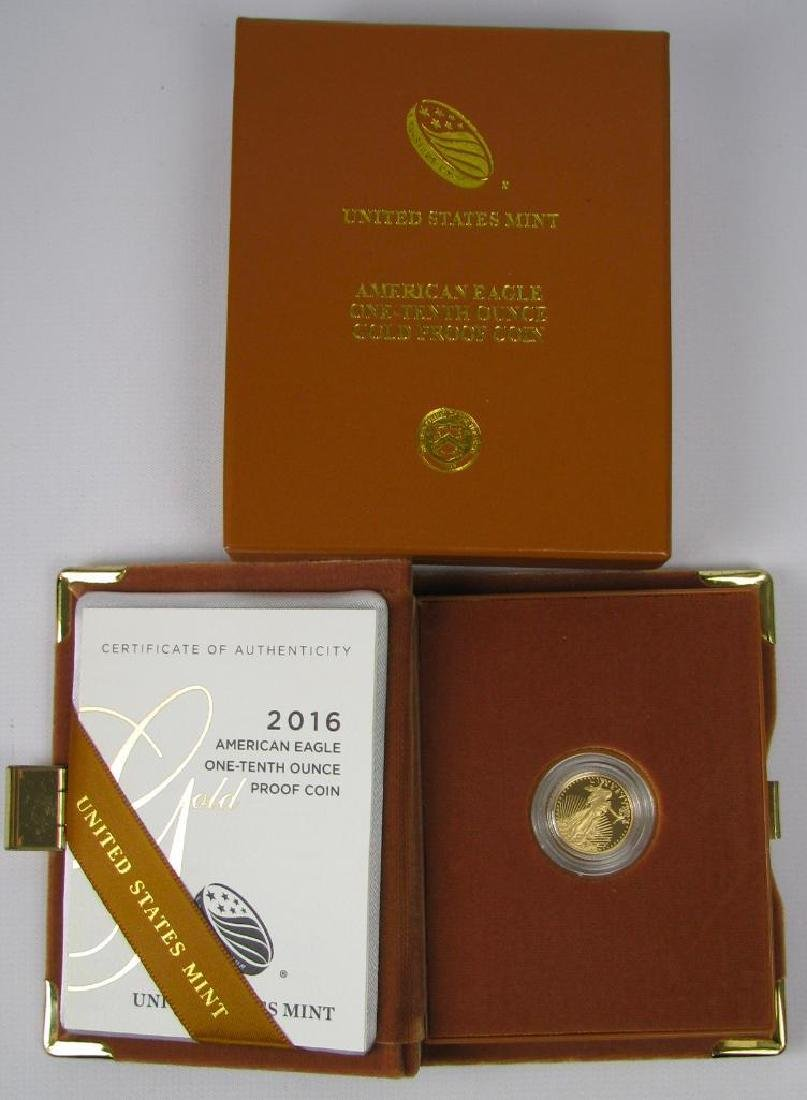 2016 American Eagle Gold Proof Coin - 3