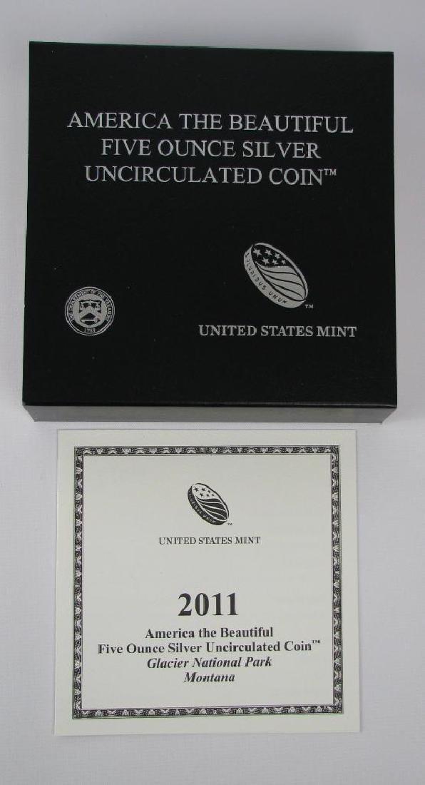 "Ê2011 ""America the Beautiful"" Commemorative : 5 oz. - 3"