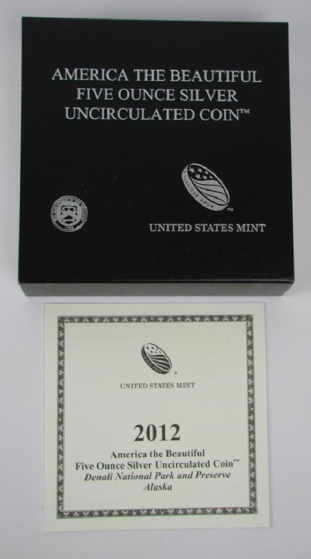 "2012 ""America the Beautiful"" Commemorative : 5 oz. - 3"
