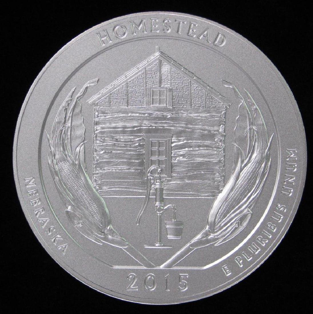 "2015 ""America the Beautiful"" Commemorative : 5 oz."