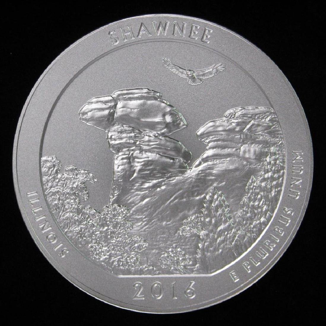 "2016 ""America the Beautiful"" Commemorative : 5 oz."
