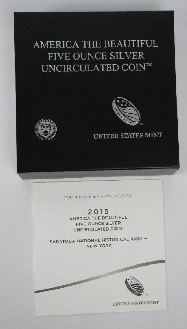 "2015 ""America the Beautiful"" Commemorative : 5 oz. - 3"