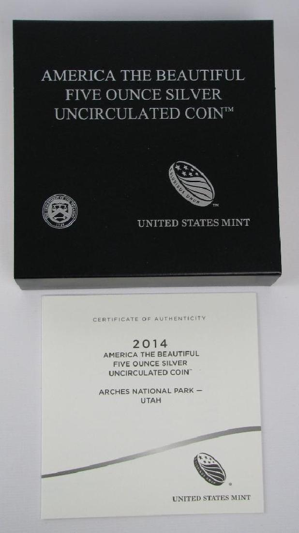 "2014 ""America the Beautiful"" Commemorative : 5 oz. - 3"