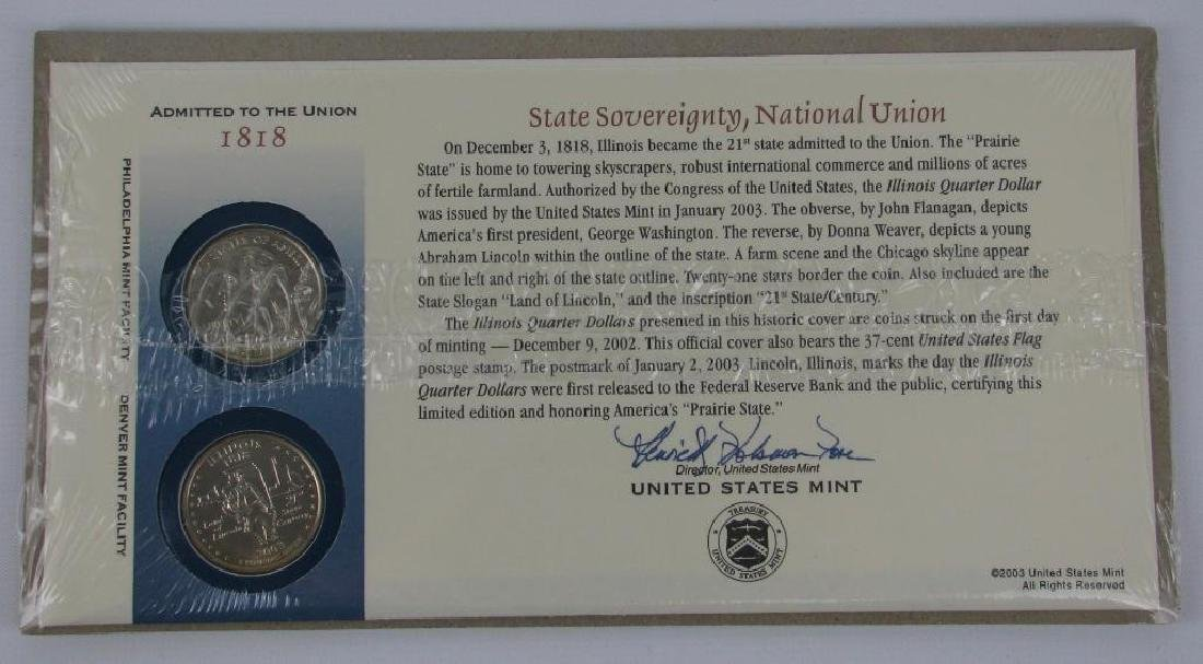 2003 : Illinois State Sovereignty Commemorative 1st Day