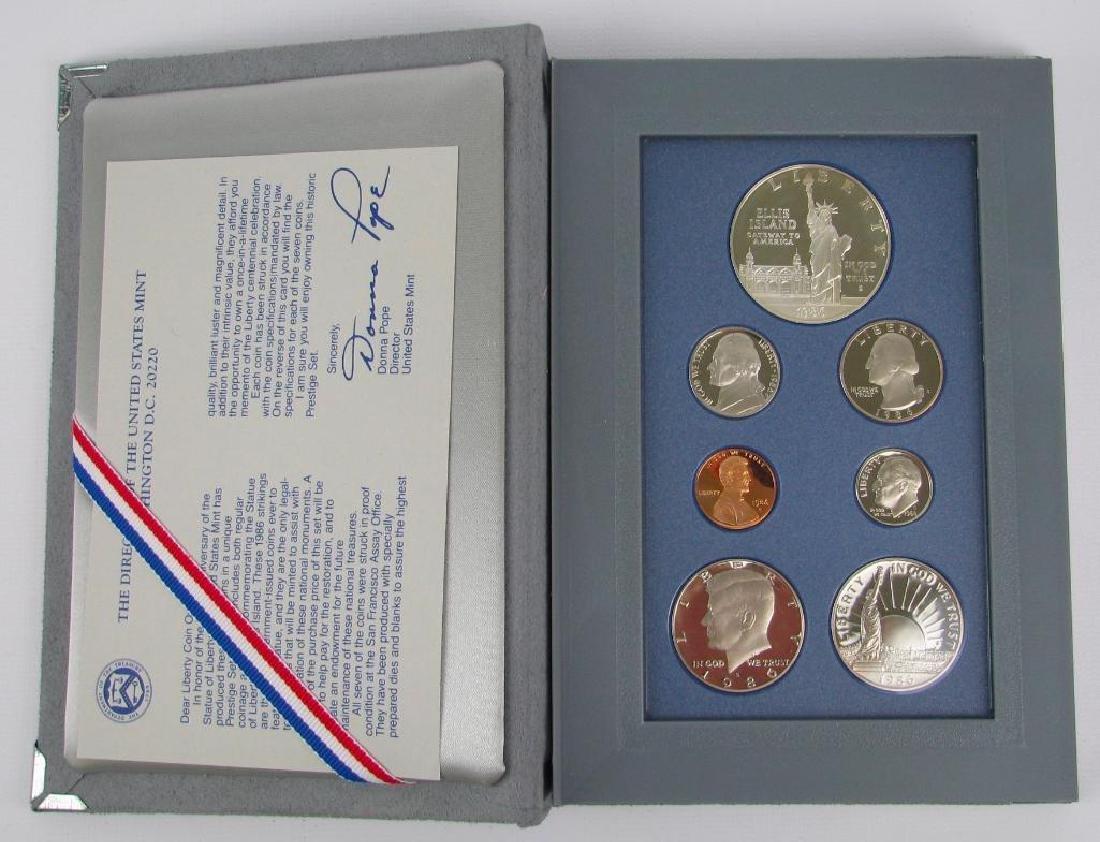 U.S. Mint Liberty Prestige Proof Set : 1986