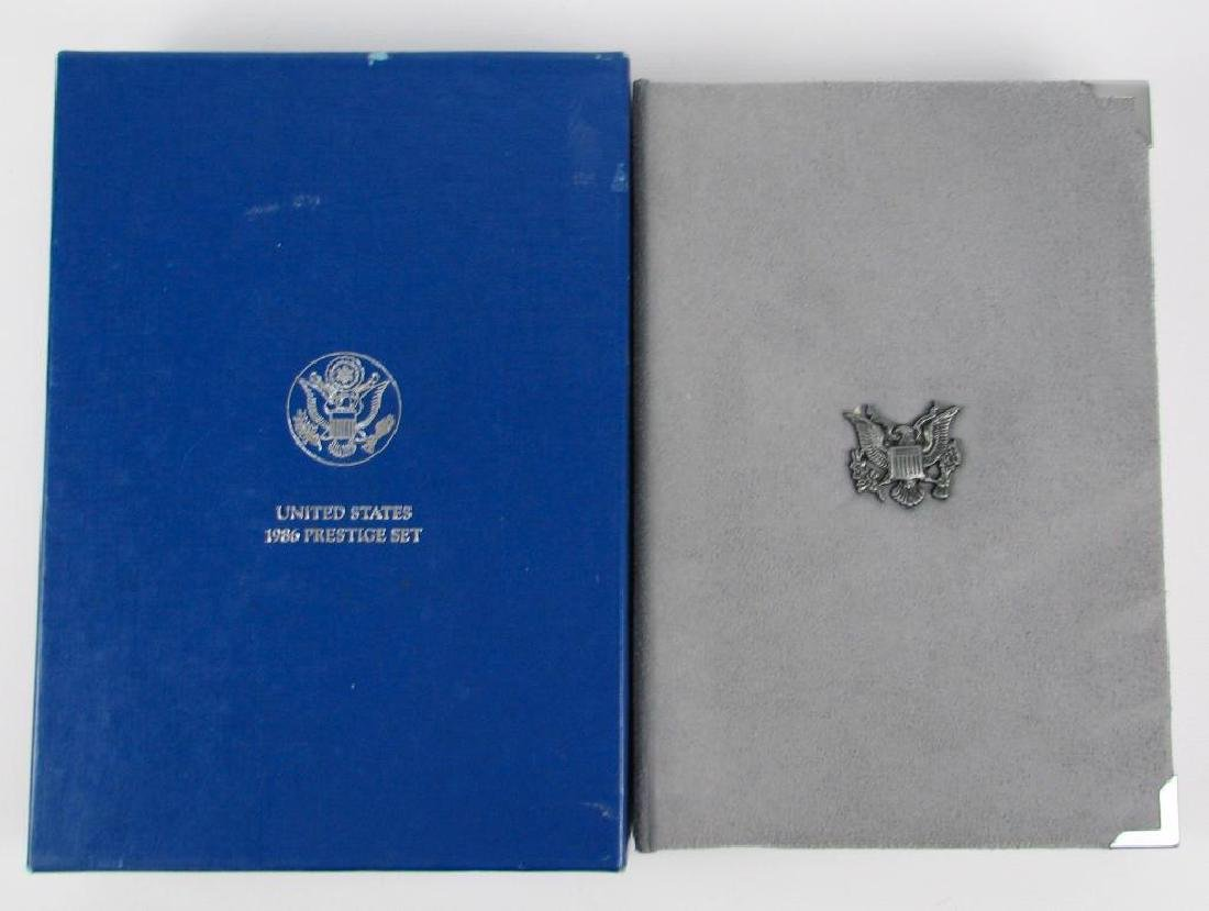 U.S. Mint Liberty Prestige Proof Set : 1986 - 2